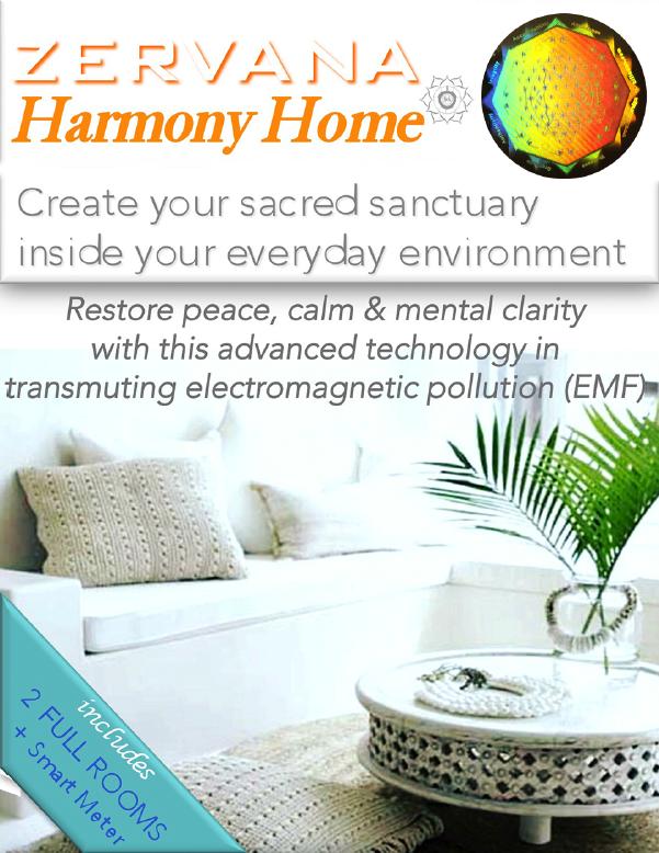 Zervana Harmony Home sacred sanctuary