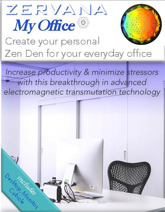 zervana my office zen den