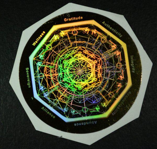 Zervana MY MEDIA biofield hologram